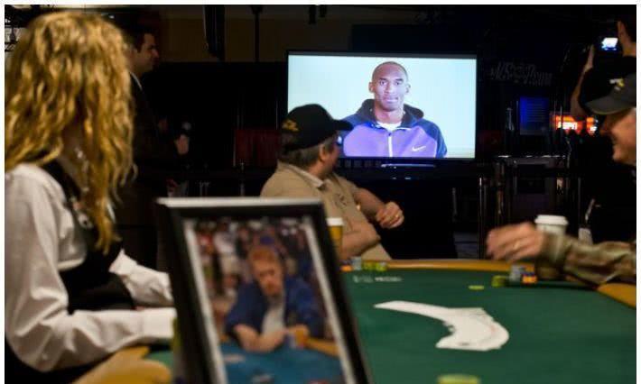 扑克界悼念篮球传奇人物科比布莱恩特