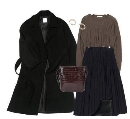 穿經典黑色呢外套被嘲像大媽?這樣穿讓你時尚有氣質