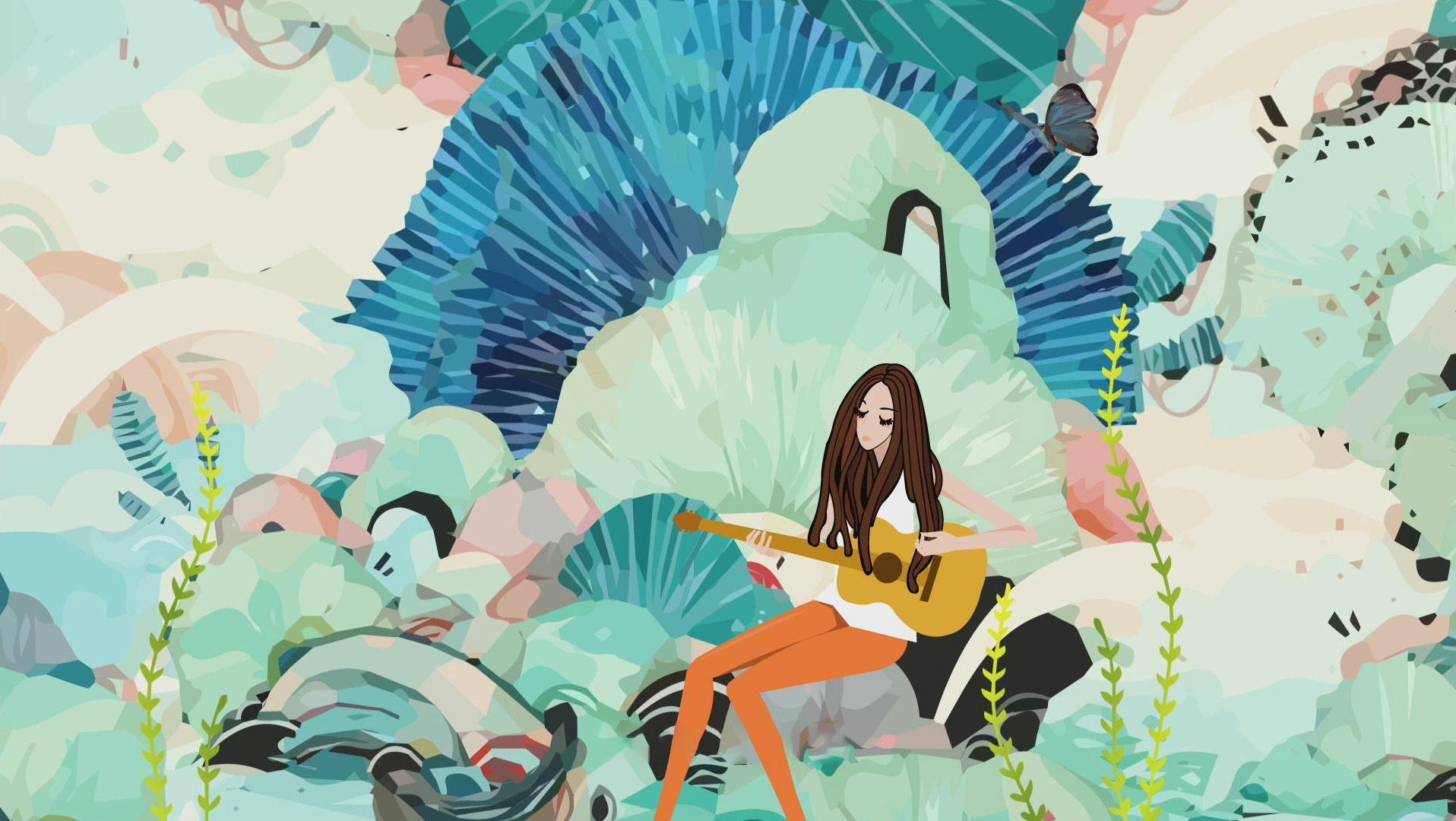 姜昕《十二月的花》发布 花败花开都是最美的姿态
