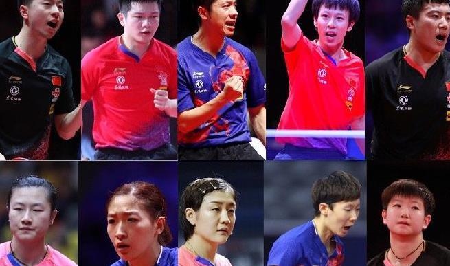 乒乓球最新世界排名:许昕不是第一,张本智和根本进不了前三!