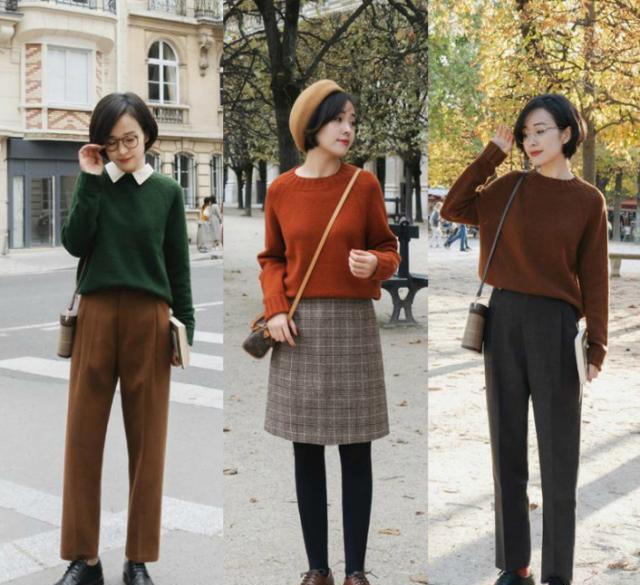 """毛衣的顏色,如何""""松弛有度""""搭出高級范?給你4個時髦小心機!"""