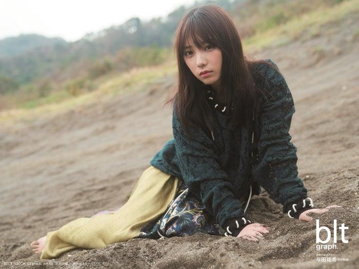 乃木坂46与田佑希穿着吊带衫忧郁的视线坦白心境也有不行的时候