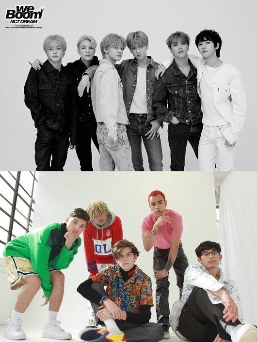 NCT DREAM参加美国男团PRETTYMUCH新专辑 发表合作曲《Up To You》