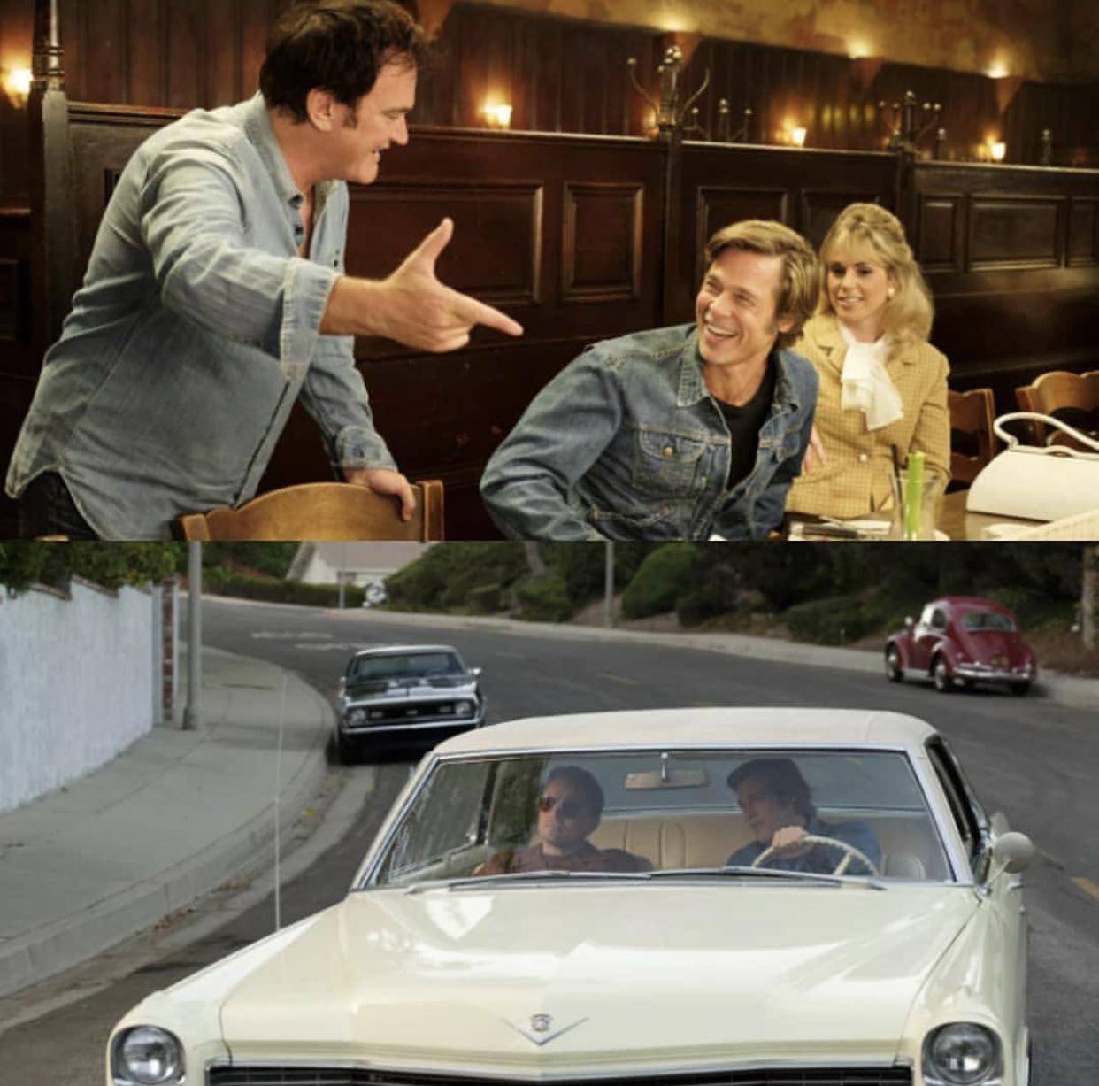 好莱电影_昆汀塔伦蒂诺放出复联4之后最受瞩目电影《好莱坞往事》最新 ...