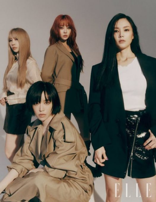 Brown Eyed Girls4人一起写真集披露 空前绝后的14年