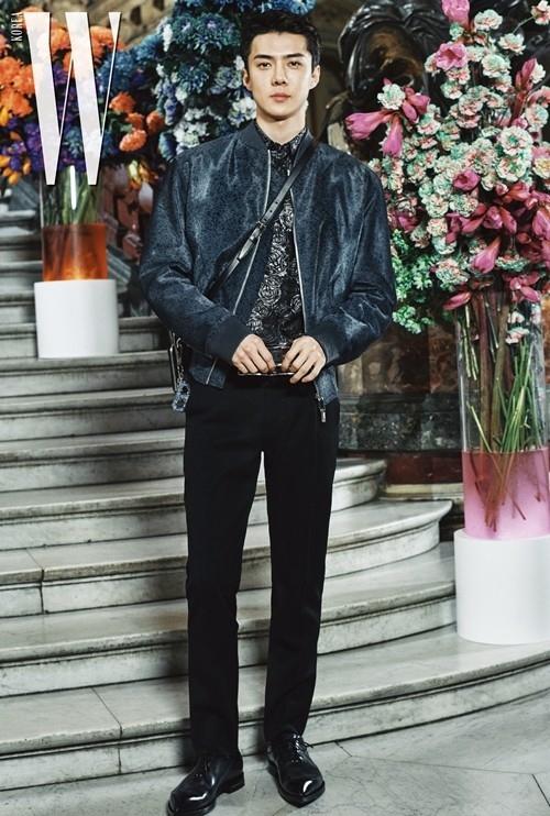 EXO吴世勋作为韩国代表参加巴黎时装秀 展示酷炫的魅力