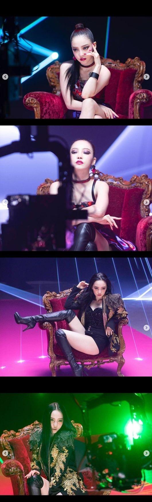 KARA出身的具荷拉《Midnight Queen》音乐MV的B片段公开 性感的魅力