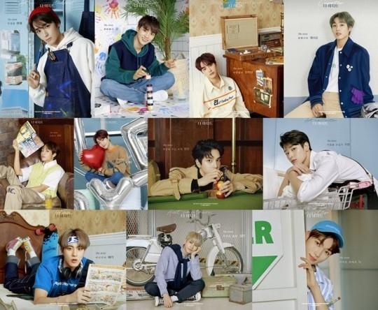 THE BOYZ成员们成为美术部员?出道2周年纪念宣传