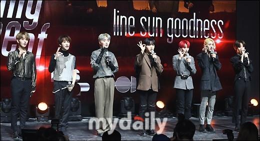 OnlyOneOf发布《line sun goodness》时隔5个月复出像做梦一样紧张