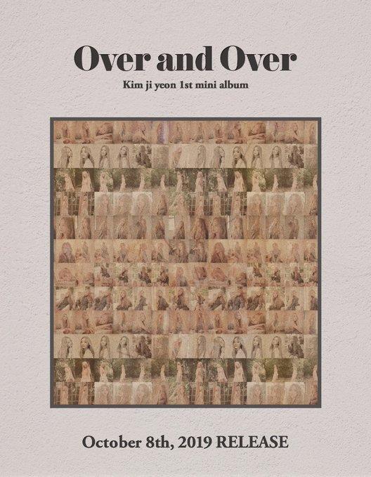 LOVELYZ Kei发布第一张迷你专辑《Over and Over》公开预告图大胆的金发造型