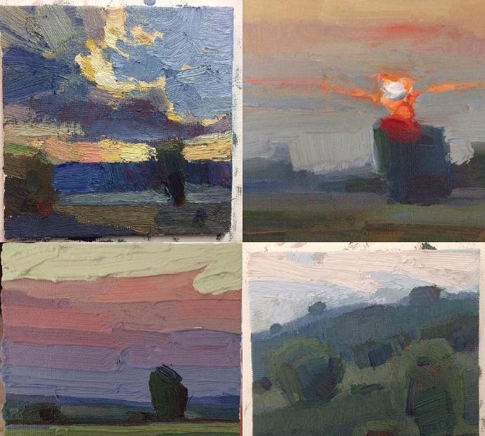 小圖看就是一幅美麗的風景畫 來自藝術家jeremy duncan作品欣賞 特別