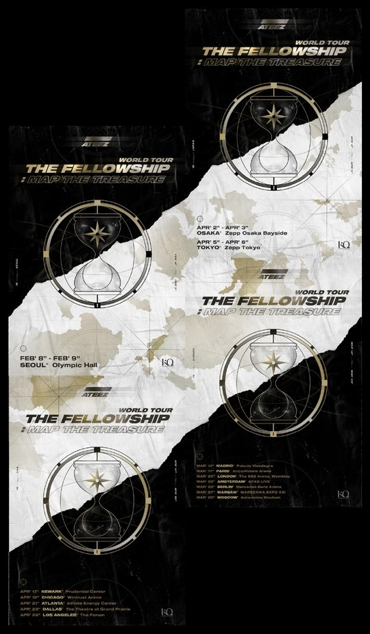ATEEZ决定举办2020年世界巡回演唱会!以首尔为起点在日本&美国等地公演