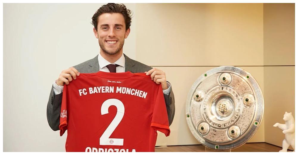 官方:拜仁宣布签下奥德里奥索拉