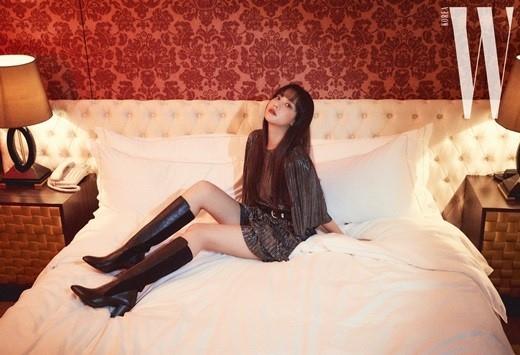 吴涟序公开潇洒&强烈气氛的写真 展示秋季时尚范本