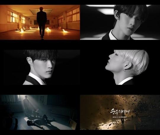 CIX公开主打歌《Numb》MV预告视频 在黑暗的气氛中高涨的紧张感