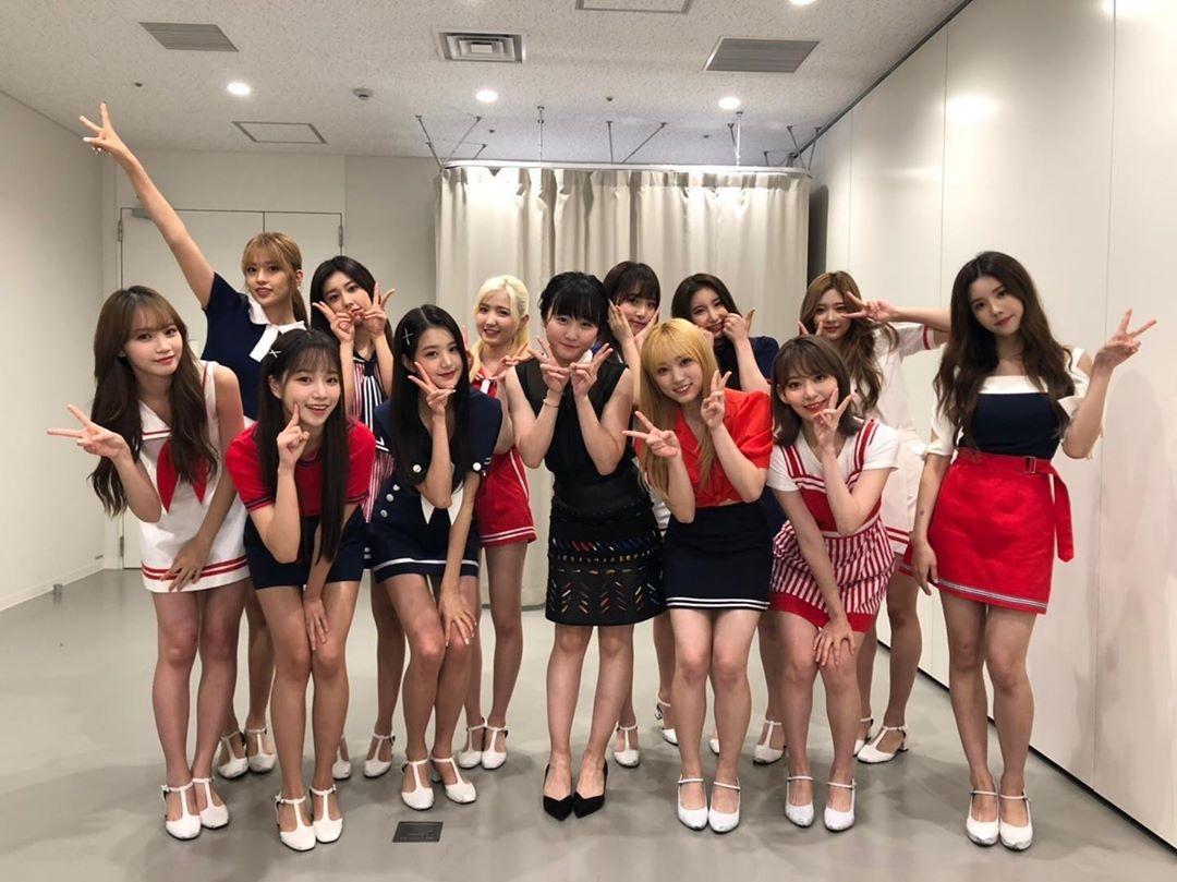 IZ*ONE &本田望结 在日本共同演出 惊喜登场让人感动梦幻般的时间