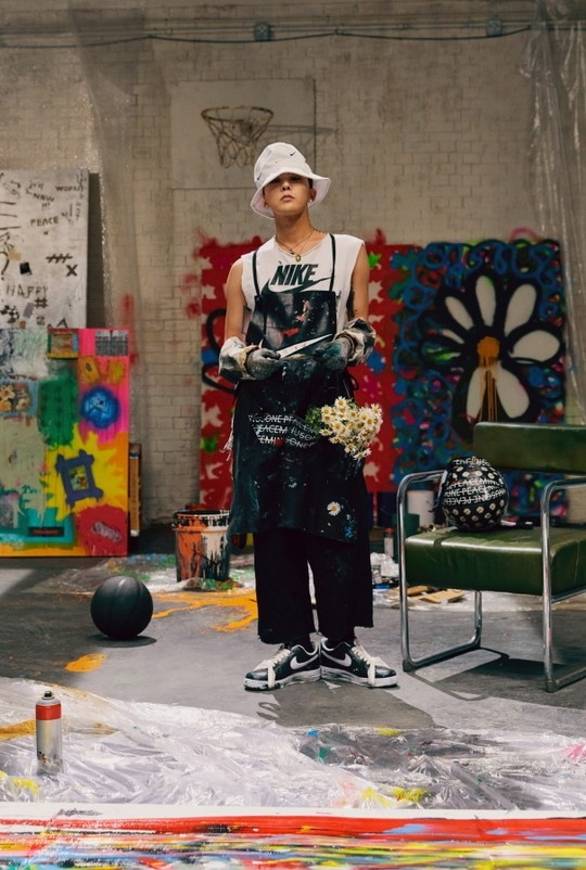 BIGBANG权志龙退伍后与NIKE合作运动鞋发售纪念活动