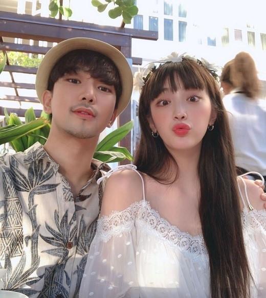 MBLAQ郑丙熙和妻子崔艺瑟 对擅自盗用情侣照片表示不满