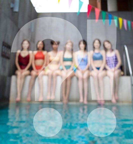 解散3年RAINBOW回归公开7人7色泳装照片高涨的重新集结的期待