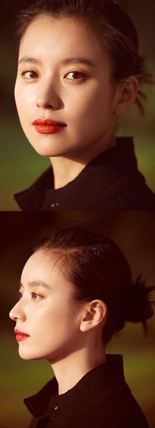 韩孝周公开个人资料照片 女神般的美貌