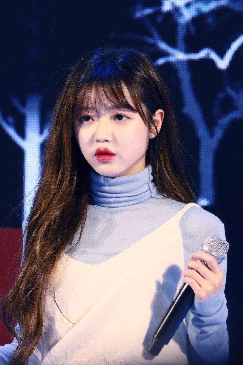 Oh My Girl刘是我她的嘴唇像樱桃 粉丝们喜欢吗?