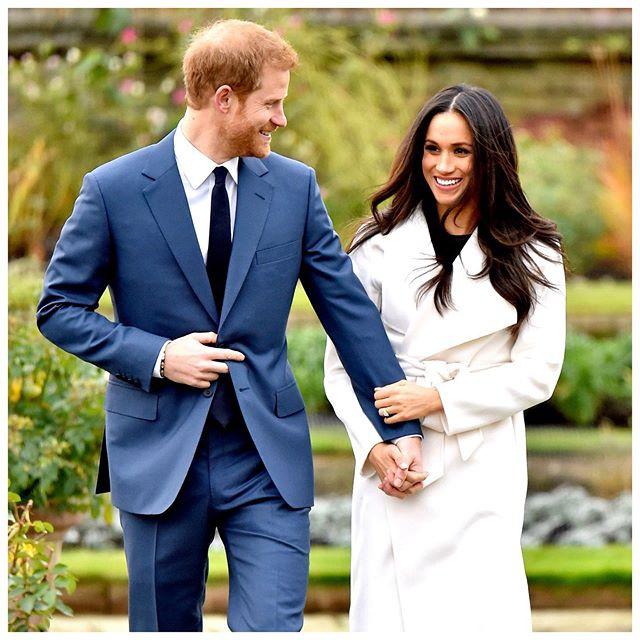哈里王子和梅根·马克尔在Instagram上分享了甜蜜的订婚周年纪念