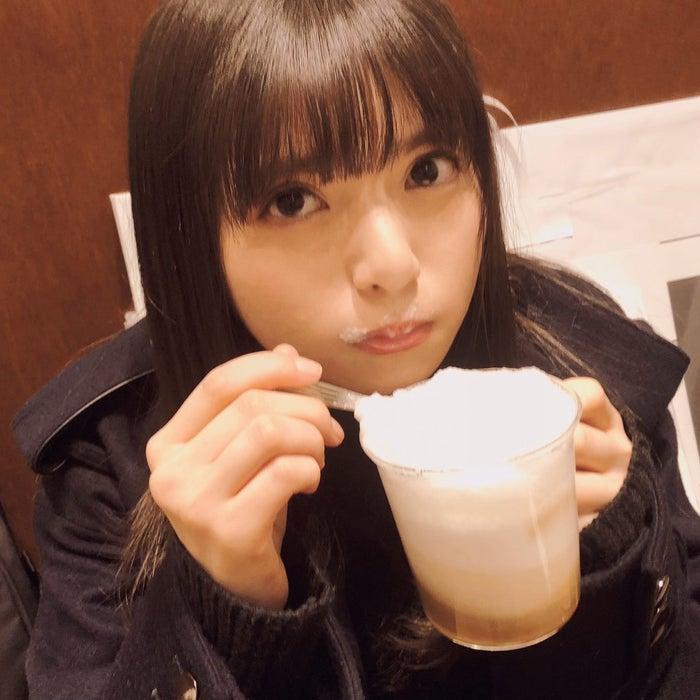 """乃木坂46斋藤飞鸟的咖啡拿铁""""泡胡子""""公开照"""