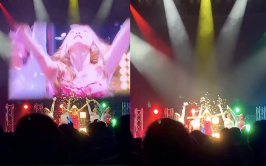 KARA出身的具荷拉公开日本演唱会回忆 大家回来了