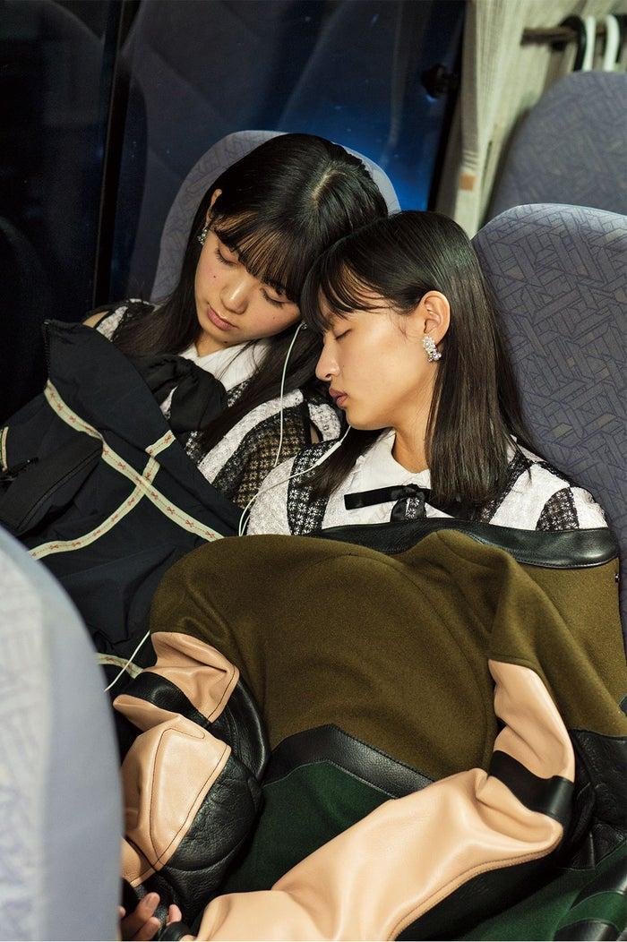 乃木坂46远藤樱&筒井彩芽 珍贵的睡颜公开