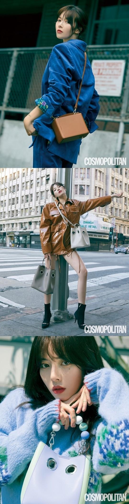 金泫雅:时尚是展现自己新面貌的表现方式