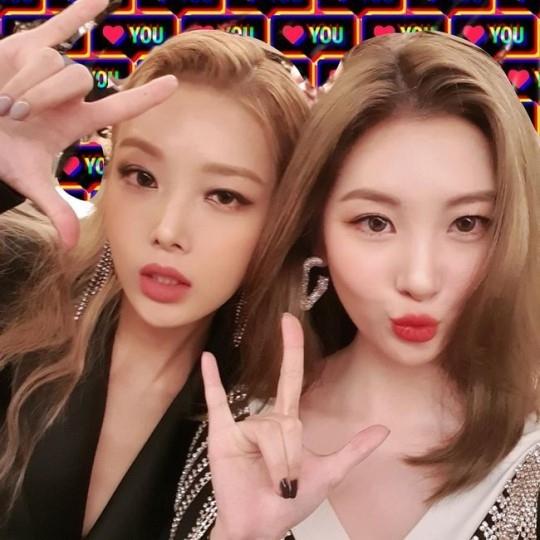 Wonder Girls金宥斌和李宣美公开二人合照不变友情让粉丝们欢喜