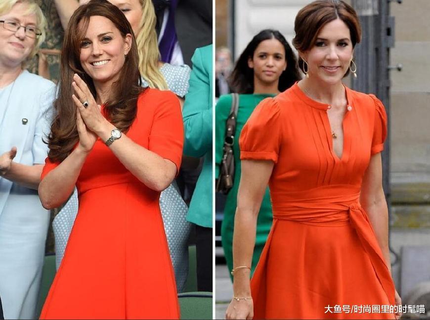 丹麦王妃服装大全照_凯特王妃vs丹麦王妃, 气质和年龄谁更胜一筹?