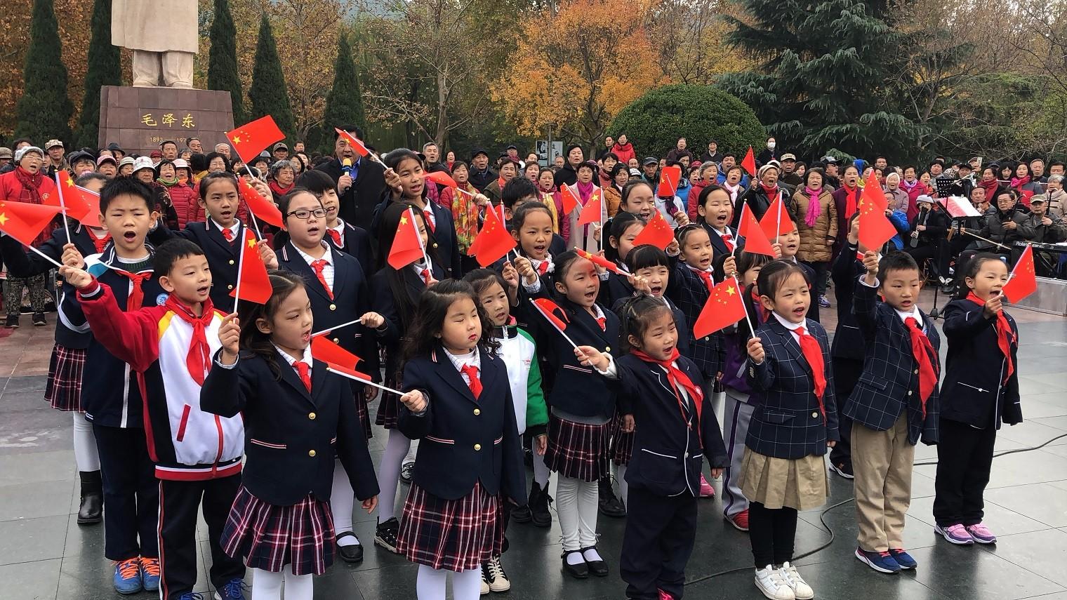 《超级萌宝秀》大合唱——《我爱你中国》