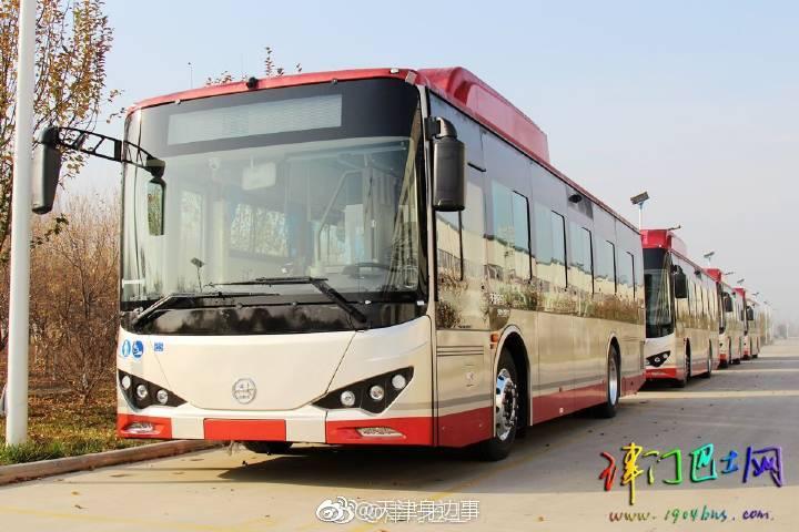 天津海泰�yle_天津市公交集团新购置的10米金马le电动巴士已经制造完成