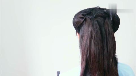 10款古装发型视频教程,汉服编发,古风控发型师
