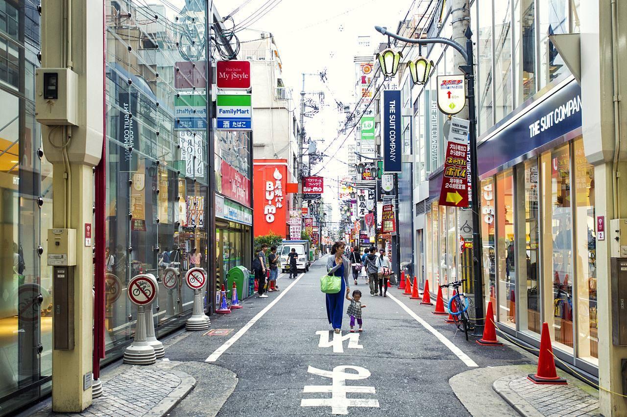 日本街道_日本街道如何做到一尘不染?