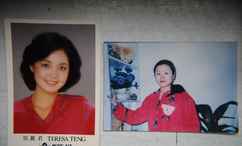 干12岁侄女儿_采访:他们是邓丽君唯一有血缘亲属,侄女与其神似