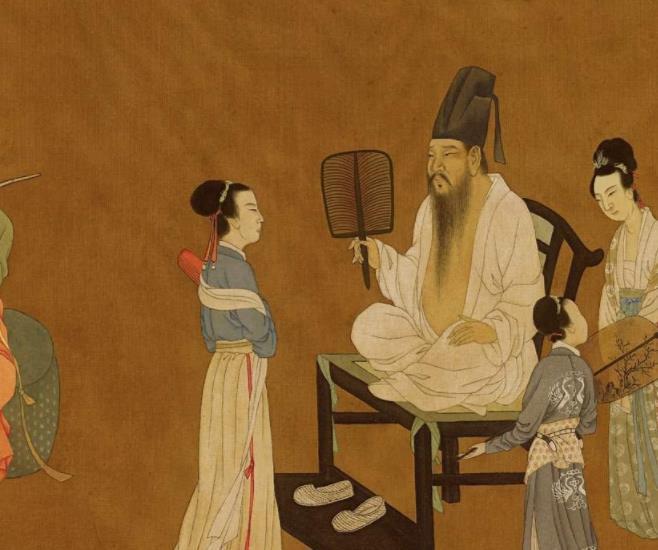 千古名画韩熙载夜宴图,隐藏天下霸权之争?韩熙载究竟是啥样人?