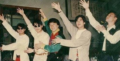 九十年代港臺男明星珍貴老照片, 有些照片看后會落淚圖片