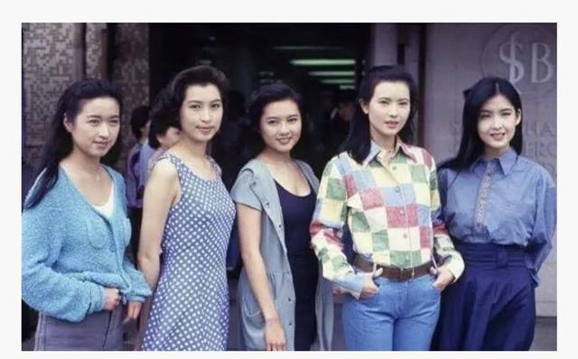 這些八九十年代的港臺女星同框照,真的無法比較出誰更圖片