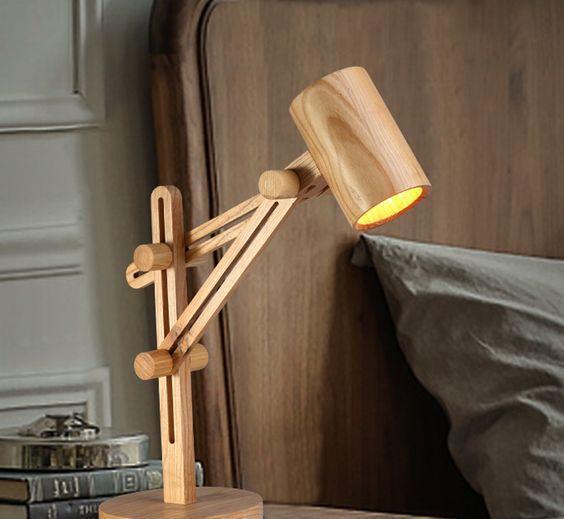 一组适合木工新手手工diy创意灯具创意分享,动手来做吧