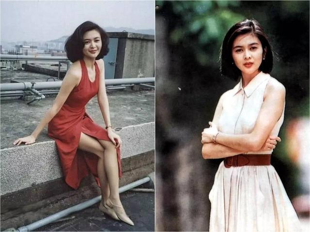 八九十年代香港電影中的女明星穿搭圖片