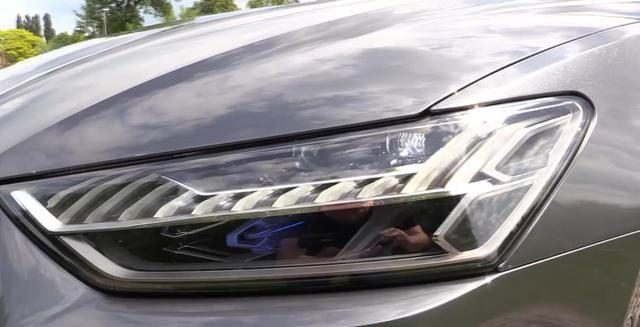 全新一代奥迪A7路试曝光,搭3.0T六缸引擎,全系标配矩阵大灯
