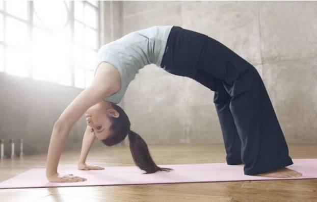 酷愛練瑜伽的5位女神,景甜高難度瑜伽,柳巖瑜伽照最性感!圖片