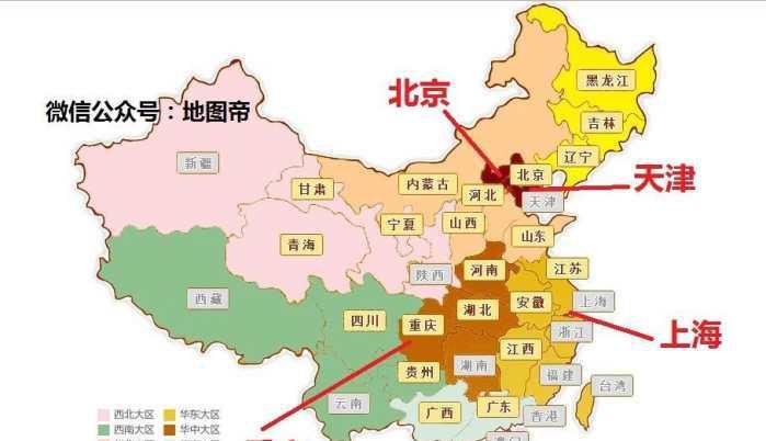 直辖市有哪几个_新中国有过几个直辖市, 四个? 不对, 是十五个