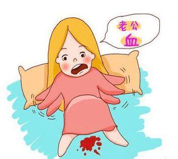 孕晚期腹痛_2,肚子疼:在孕晚期,准妈妈夜间休息时,有时会因假宫缩而出现下腹阵痛