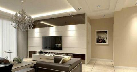 客厅采用日式风格的装修风格,让家里的客厅变的更加宁静,美观