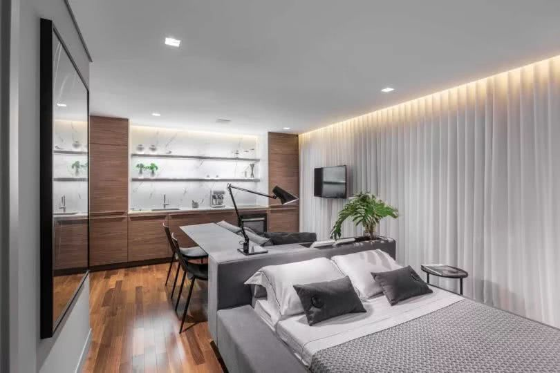 42平方米小的公寓裝修設計超時尚 不得不向設計師投降