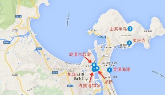 越南自由行地图
