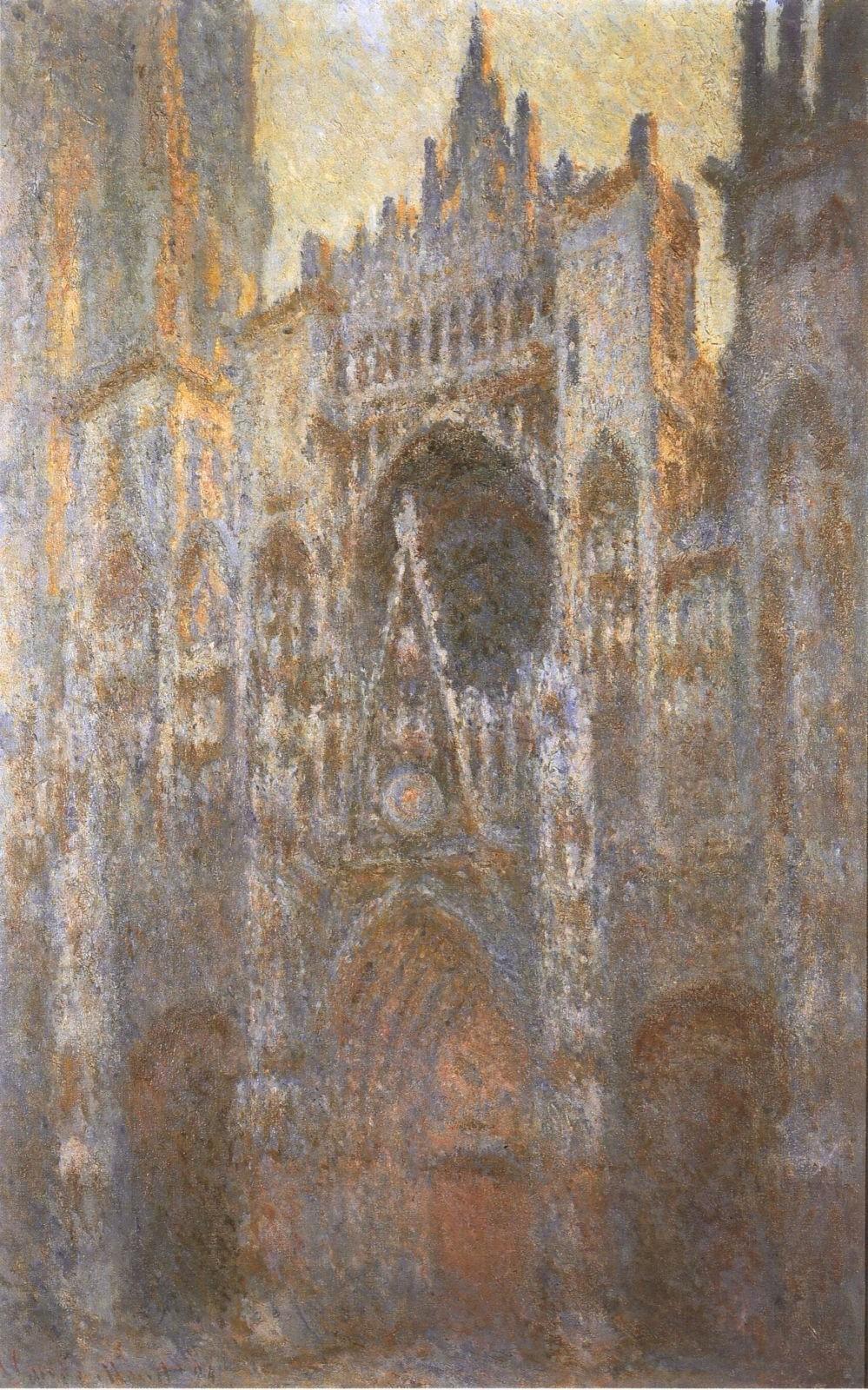 就去鲁图片网_莫奈的28幅《鲁昂大教堂》|鲁昂大教堂|莫奈|画家_新浪新闻
